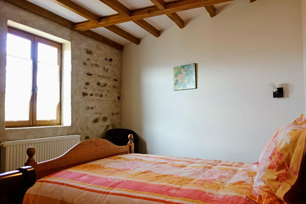 Maison d'Hôtes en Beaujolais - Chambre