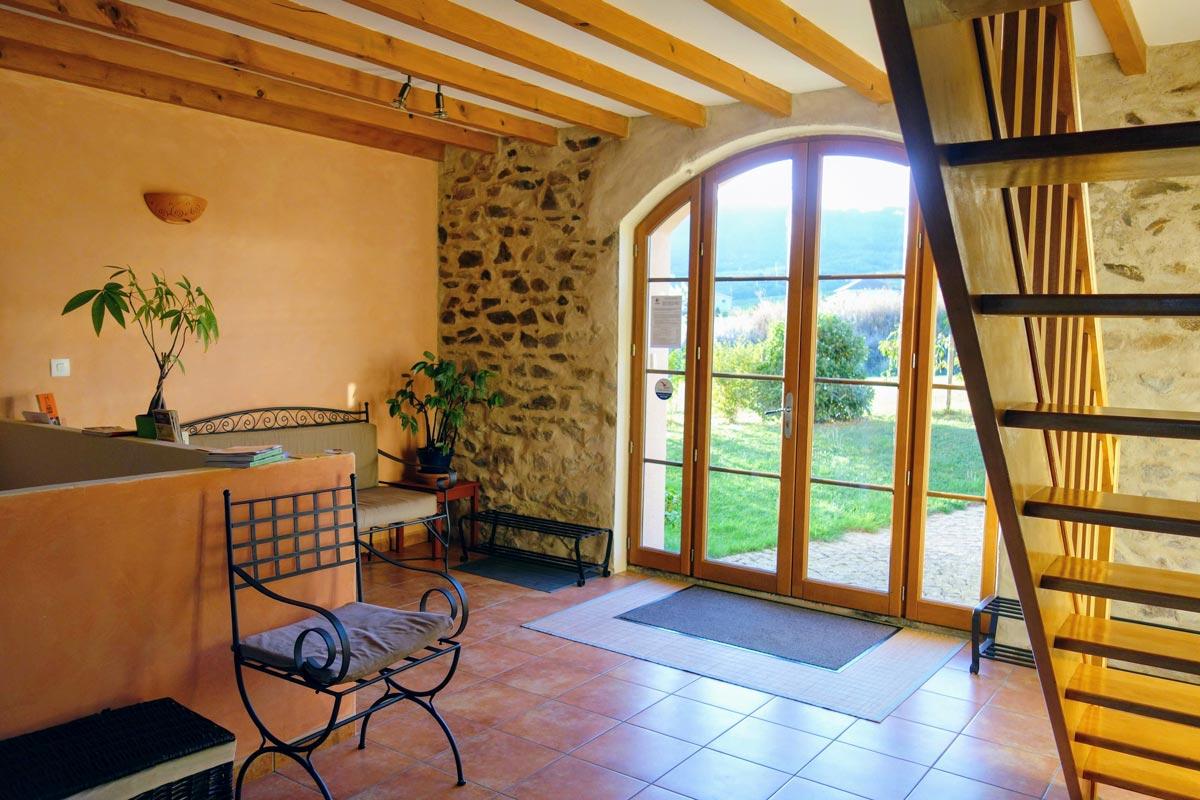 Maison d'Hôtes en Beaujolais - Hall d'entrée